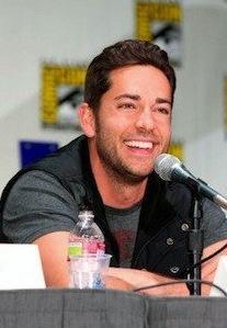 Zachary Levi at Comic-Con