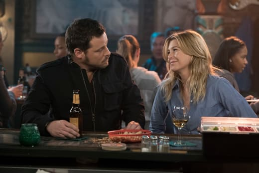 Drinks with the Bestie - Grey's Anatomy Season 14 Episode 17