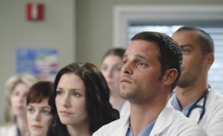 Karev Looks on