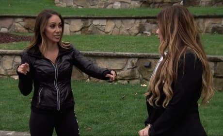 Melissa Confronts Siggy - The Real Housewives of New Jersey