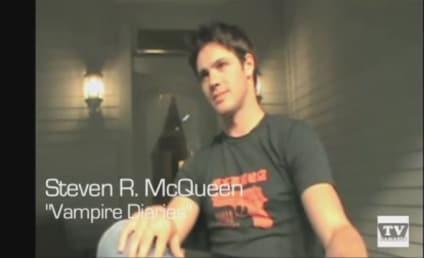Exclusive Video Interview: The Vampire Diaries' Steven R. McQueen Speaks to TV Fanatic!