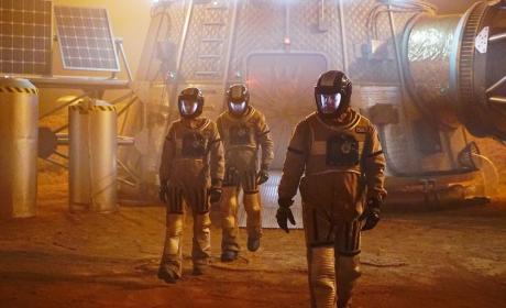 The Mars Simulation - Castle Season 7 Episode 16