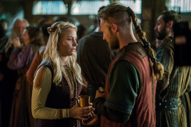 Ubbe and Margrethe - Vikings Season 4 Episode 17