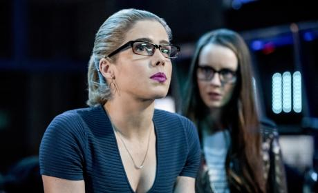 Felicity Is Shocked - Arrow