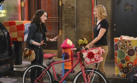 Riding a Bike - 2 Broke Girls