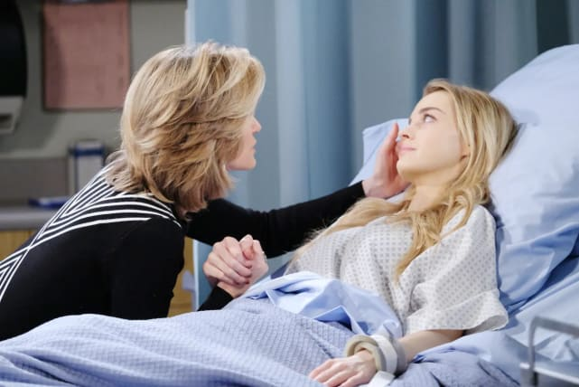 Claire leaves Salem.