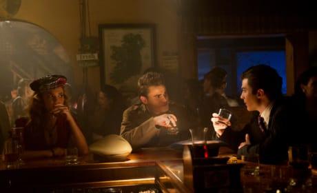 Lexie, Stefan and Damon