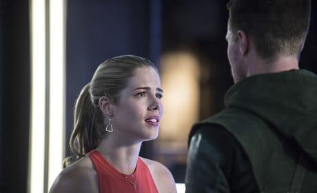 Are Those Tears? - Arrow Season 3 Episode 2