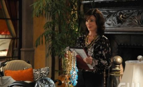 Laurel at Her Desk