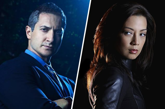 Captain Sean Renard (Grimm) and Agent Melinda May (Agents of SHIELD)