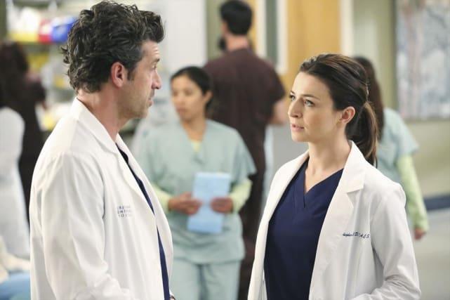 Derek vs. Amelia - Grey's Anatomy Season 11 Episode 7