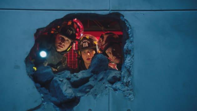 A Big Hole - 9-1-1 Season 2 Episode 15