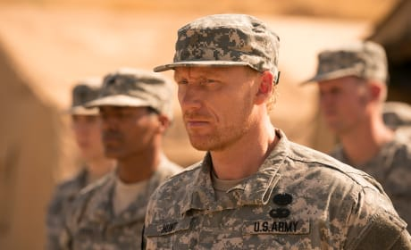 Owen in Fatigues - Grey's Anatomy Season 14 Episode 5