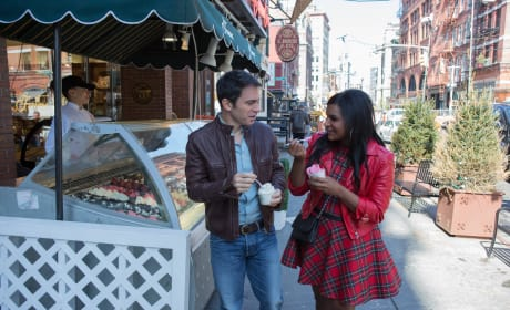 Mindy with Danny - The Mindy Project Season 3 Episode 1