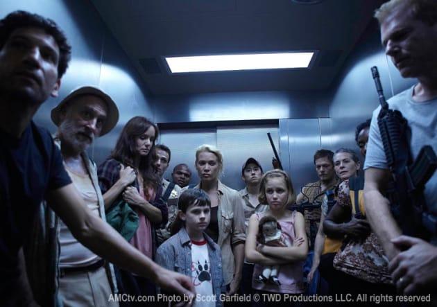 Walking Dead Finale Photo