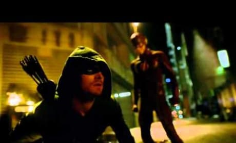 "Best Crossover: The Flash Season 1 Episode 8, ""The Flash vs. Arrow"""
