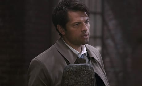 Castiel has the tablet - Supernatural Season 11 Episode 6