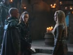 Clarke and Lexa Meet With Titus - The 100 Season 3 Episode 6