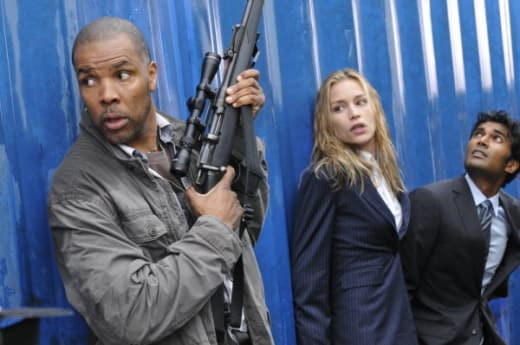Eriq LaSalle on Covert Affairs