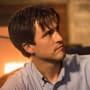 Gavin sits near the fire - Supernatural Season 12 Episode 13
