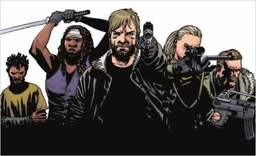 The Walking Dead Comic Pic