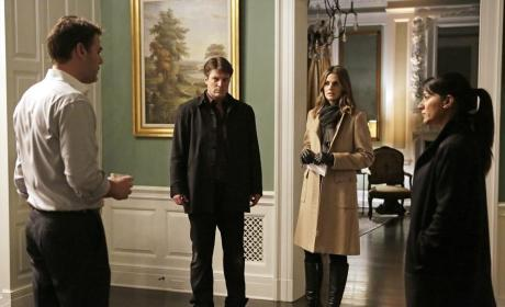 Working the Case Together - Castle Season 7 Episode 13