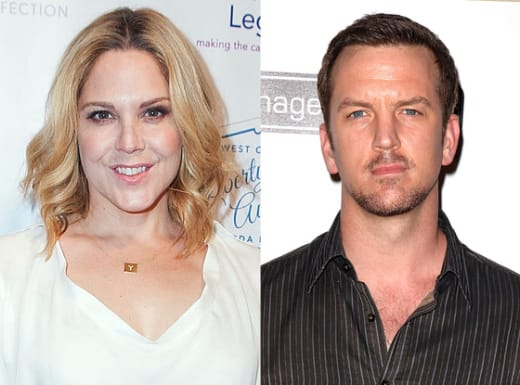 Mary McCormack and Josh Randall Pic