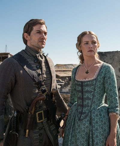 Eleanor and Woodes - Black Sails Season 4 Episode 2