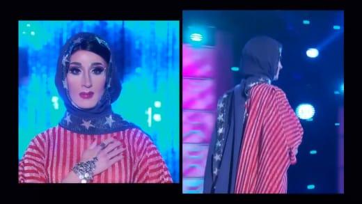 Jackie Cox Political Runway - RuPaul's Drag Race Season 12 Episode 9