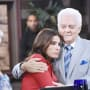 Doug Comforts Hope - Days of Our Lives