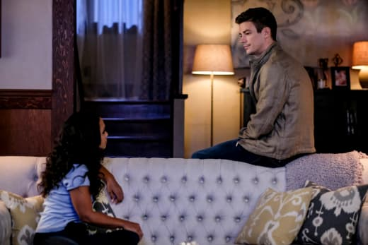 Barry Turns to Cecile - The Flash Season 5 Episode 5