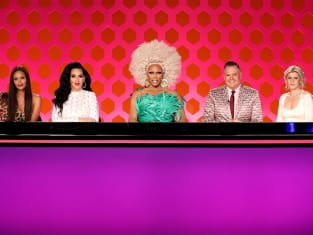 Robyn & Thandie Newton Guest Judge - RuPaul's Drag Race