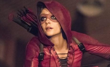 The Return Of Thea Queen As Speedy - Arrow