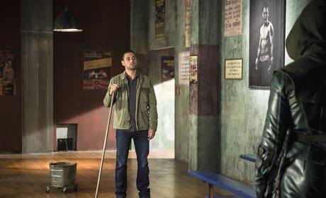 Hey Wildcat - Arrow Season 3 Episode 6