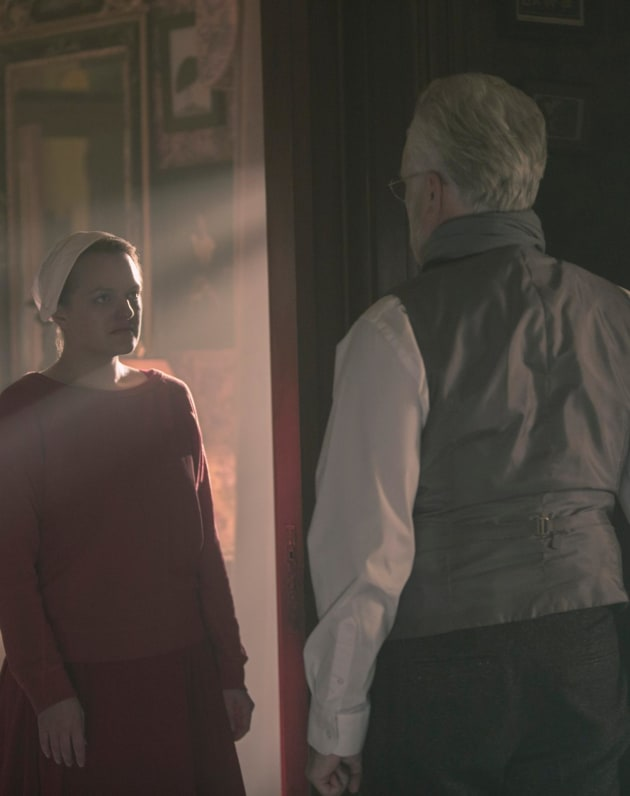 The Commander And June Battle  - The Handmaid's Tale Season 3 Episode 8