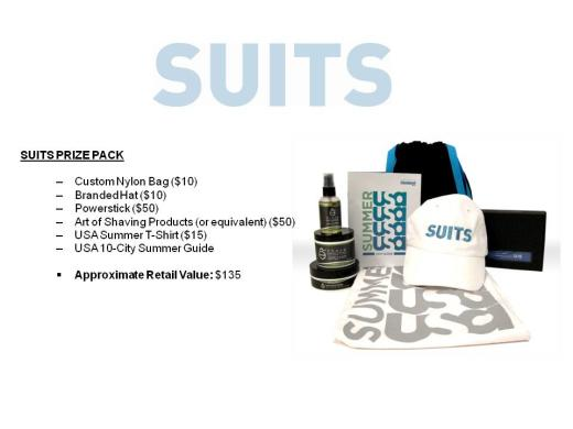 Suits Prize Pack