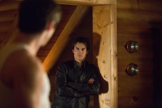 Damon as Trainer