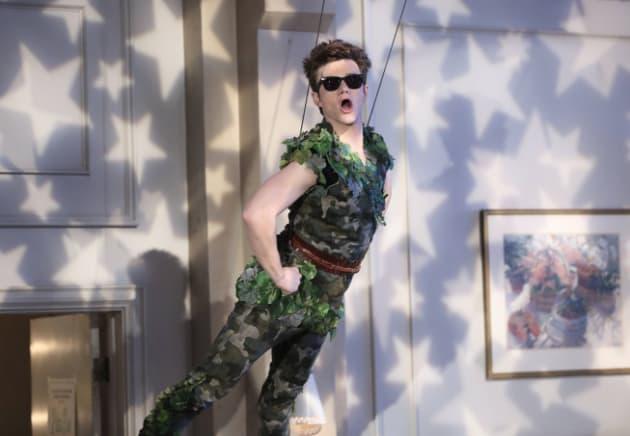 Kurt as Peter Pan