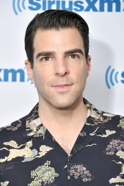 Zachary Quinto Attends Event