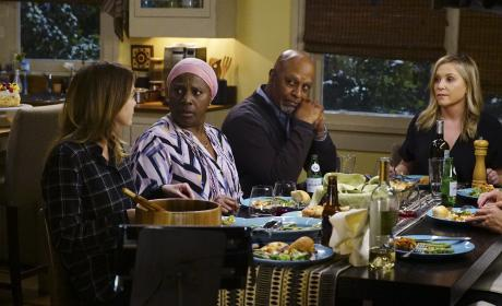 Guess Who's Coming For Dinner - Grey's Anatomy Season 13 Episode 18