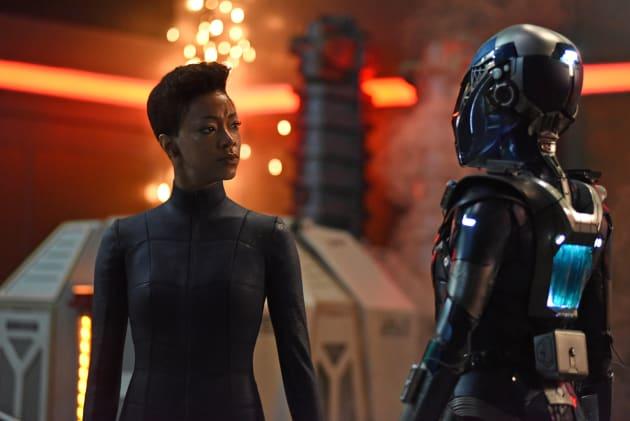 Burnham and the Red Angel - Star Trek: Discovery Season 2 Episode 14