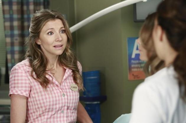 Sarah Chalke on Grey's Anatomy