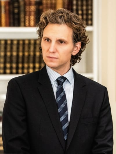 Sebastian Arcelus as Jay Whitman - Madam Secretary Season 5 Episode 14