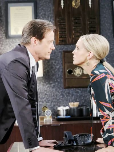 Jennifer Confronts Jack Again - Days of Our Lives