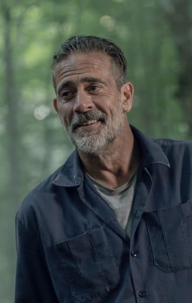 Negan Smiles - The Walking Dead Season 10 Episode 5