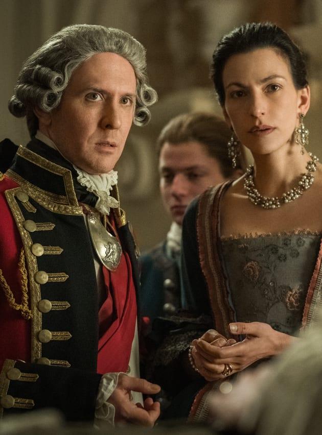 Mr. and Mrs. Tryon - Outlander Season 4 Episode 8