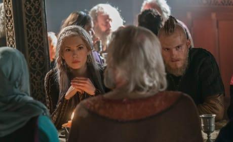 Lagertha and Bjorn - Vikings Season 5 Episode 12