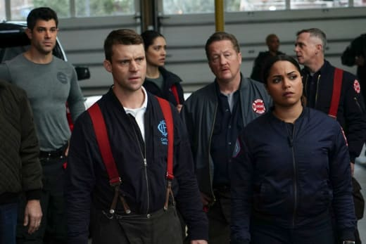 The FBI Takes Over - Chicago Fire