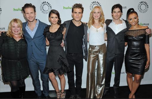 The Vampire Diaries Cast PaleyFest Photo
