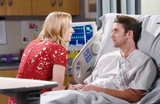 Abby and Chad in the Hospital - Days of Our Lives